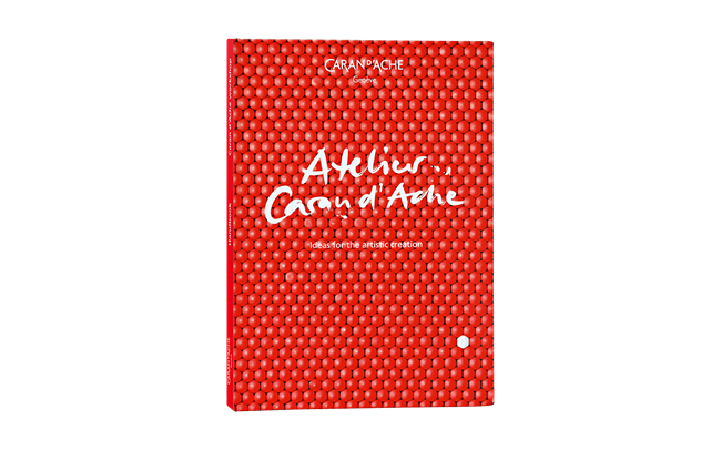The CARAN D'ACHE WORKSHOP BOOK english version