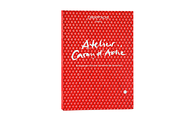 The CARAN D'ACHE WORKSHOP BOOK german version