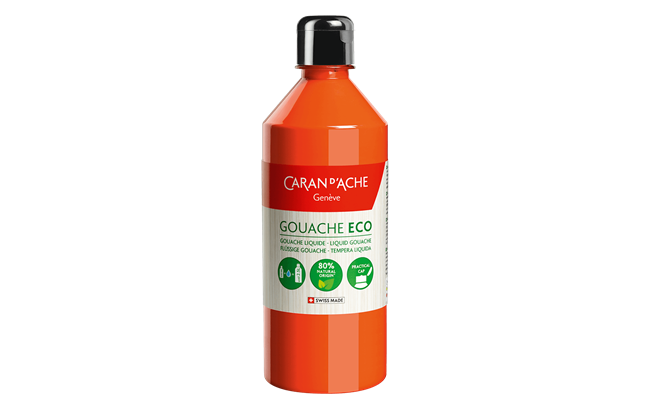 GOUACHE ECO 500 ml Orange Fluo