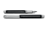 Silver-plated, rhodium-coated VARIUS PETER MARINO fountain pen