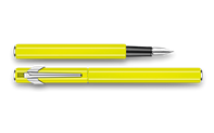 Fountain Pen 849 Metal Yellow Fluo