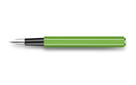 Fountain Pen 849 Metal Green Fluo