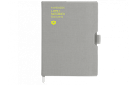 Notebook OFFICE A5 Canvas-Grey