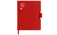 Notebook OFFICE A6 Canvas-Red