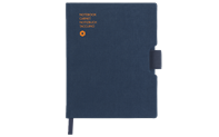 Notebook OFFICE A6 CANVAS-BLUE