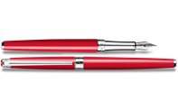 LÉMAN SLIM Scarlet Red Fountain Pen