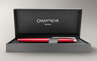 Scarlet Red LÉMAN SLIM Fountain Pen