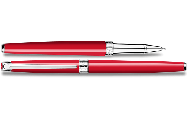 Roller Pen LÉMAN SLIM Scarlet Red