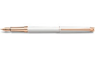 LÉMAN SLIM White Rosegold Fountain Pen