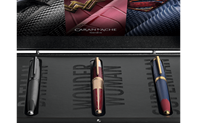 Set 3 fountain pens JUSTICE LEAGUE TRINITY – LIMITED EDITION BOX TRILOGY