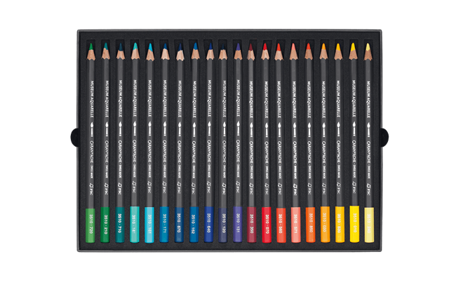 Standard Box of 40 Colours MUSEUM Aquarelle