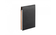 BLACK LEATHER A5 NOTEBOOK
