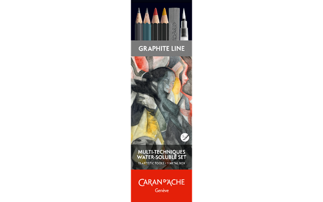 Water-soluble Set 13 Tools GRAPHITE LINE