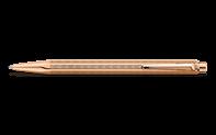 Rose-Gilded ECRIDOR CHEVRON Ballpoint Pen