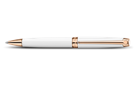 White Rose Gold LÉMAN Ballpoint Pen