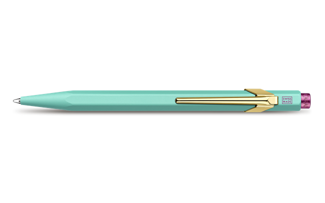 849 CLAIM YOUR STYLE Turquoise Ballpoint Pen