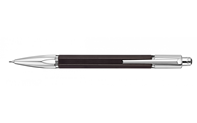 Silver-Plated and Rhodium-Coated VARIUS EBONY Mechanical Pencil