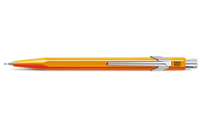 Orange 844 FLUO LINE Mechanical Pencil