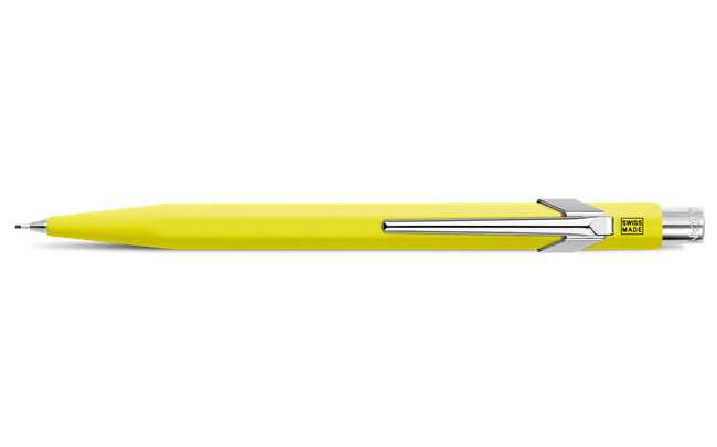 Yellow 849 Fluo Line Mechanical Pencil