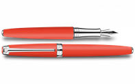 Coral Matte LÉMAN Fountain Pen