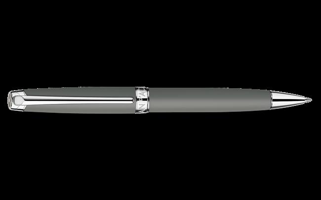 Grey Matte LÉMAN Ballpoint Pen