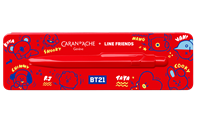 Ballpoint Pen 849 CARAN D'ACHE + LINE FRIENDS BT21 Edition