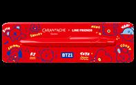 Stylo Bille 849 CARAN D'ACHE + LINE FRIENDS Édition BT21