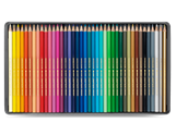 Box of 40 Colours Pencils SWISSCOLOR Water-soluble