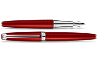 Rouge Carmin LÉMAN Fountain Pen
