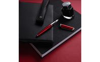 LÉMAN Rouge Carmin Fountain Pen