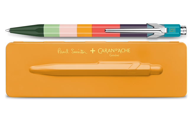 849 PAUL SMITH Ballpoint pen with etui ORANGE - Limited Edition