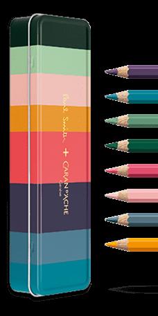 Caran d/'Ache Supracolor Soft Water-Soluble Crayon Vert Foncé