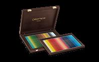 Holzkoffer 60 Farben SUPRACOLOR® Soft Aquarelle