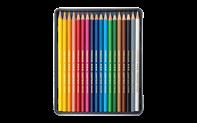スイスカラー 油性色鉛筆 18色