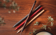The Scented Pencils of 'la Maison Caran d'Ache' + Mizensir ed. n°9
