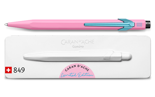 Ballpoint Pen 849 CLAIM YOUR STYLE Hibiscus Pink – Limited Edition