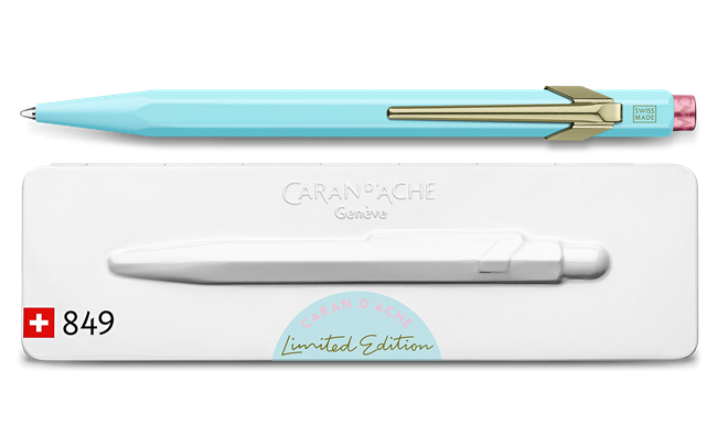 Ballpoint Pen 849 CLAIM YOUR STYLE Bluish Pale – Limited Edition