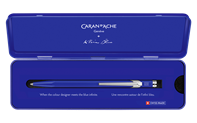 849 KLEIN BLUE® Ballpoint pen with metal case - Limited Edition