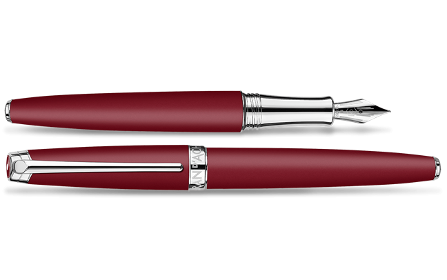 Gift Box Burgundy LÉMAN Fountain Pen