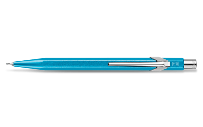 Mechanical Pencil 849 CLASSIC LINE Turquoise Metal-X