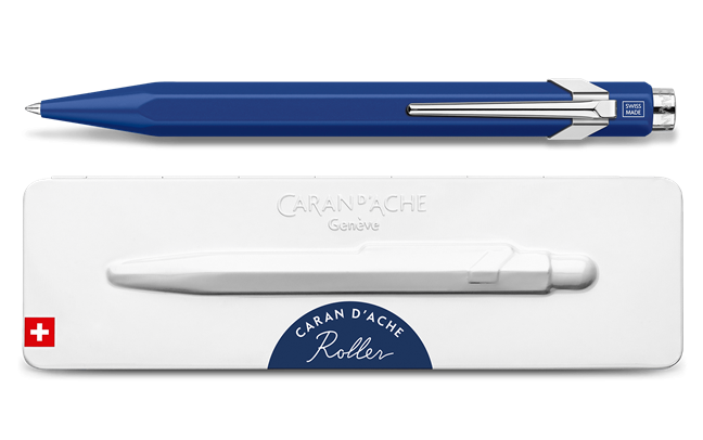 Roller pen 849 Roller, Blue with etui