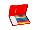 Set mit 15 Fasermalern FIBRALO + Heft oder Postkarten SWISS EXPLORER