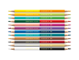Box of 12 Bicolor Coloured Pencils PRISMALO® WONDER FOREST - Limited Edition